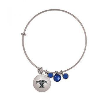 Xavier University-Frankie Tyler Charmed Bracelet