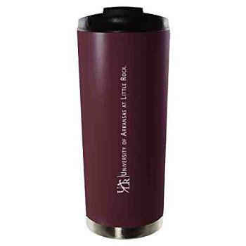 University of Arkansas at Little Rock-16oz. Stainless Steel Vacuum Insulated Travel Mug Tumbler-Burgundy