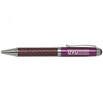 Utah Valley University -Carbon Fiber Mechanical Pencil-Pink