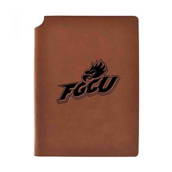 Florida Gulf Coast University Velour Journal with Pen Holder|Carbon Etched|Officially Licensed Collegiate Journal|