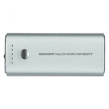Mississippi Valley State University -Portable Cell Phone 5200 mAh Power Bank Charger -Silver