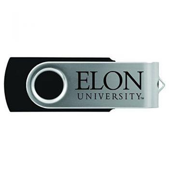 Elon University -8GB 2.0 USB Flash Drive-Black