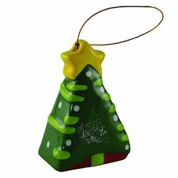Jacksonville State University-Christmas Tree Ornament