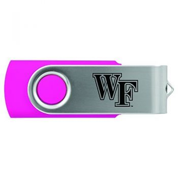 Wake Forest University -8GB 2.0 USB Flash Drive-Pink