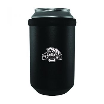 Washington University in St. Louis-Ultimate Tailgate Can Cooler-Black