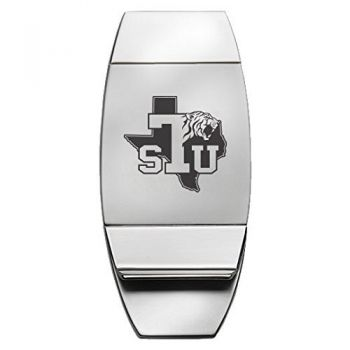 Texas Southern University - Two-Toned Money Clip