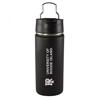 The University of Rhode Island -20 oz. Travel Tumbler-Black