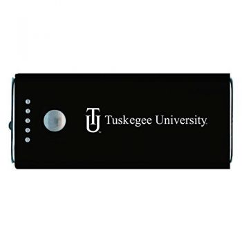 Tuskegee University -Portable Cell Phone 5200 mAh Power Bank Charger -Black