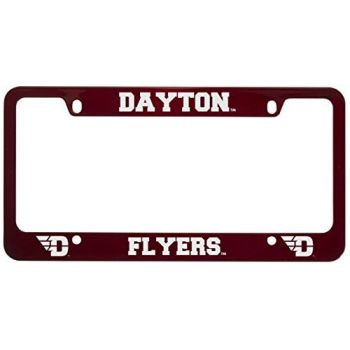 University of Dayton -Metal License Plate Frame-Red