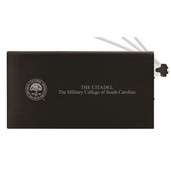 8000 mAh Portable Cell Phone Charger-The Citadel-Black