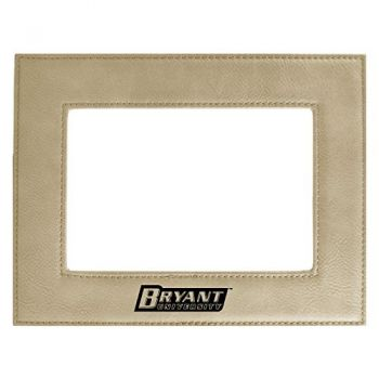 Bryant University-Velour Picture Frame 4x6-Tan