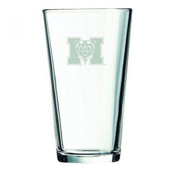 Mercer University -16 oz. Pint Glass