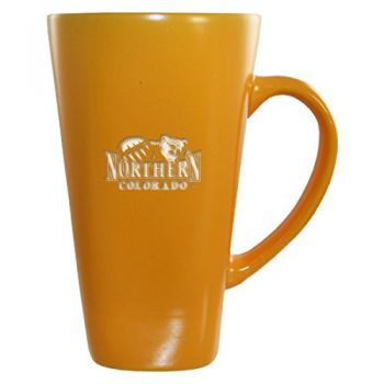 University of Northern Colorado -16 oz. Tall Ceramic Coffee Mug-Gold