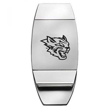 California State University, Chico - Two-Toned Money Clip - Silver