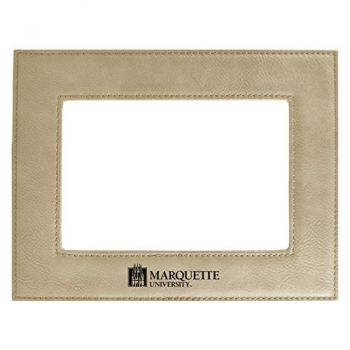 Marquette University-Velour Picture Frame 4x6-Tan