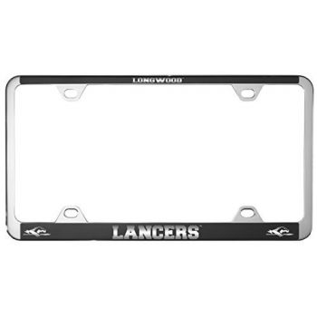 Longwood University-Metal License Plate Frame-Black