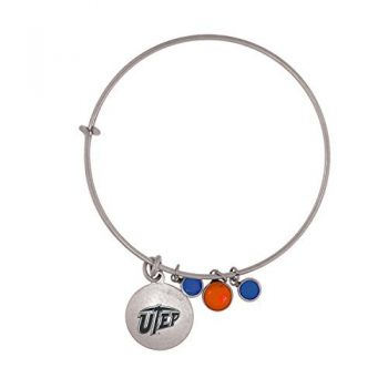 The University of Texas at El Paso-Frankie Tyler Charmed Bracelet