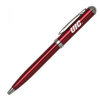 University of Illinois at Chicago - Click-Action Gel pen - Red