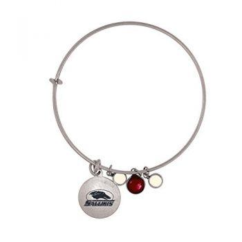 Southern Illinois University-Frankie Tyler Charmed Bracelet