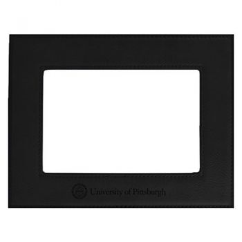 University of Pittsburgh-Velour Picture Frame 4x6-Black