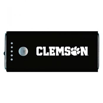 Clemson University -Portable Cell Phone 5200 mAh Power Bank Charger -Black