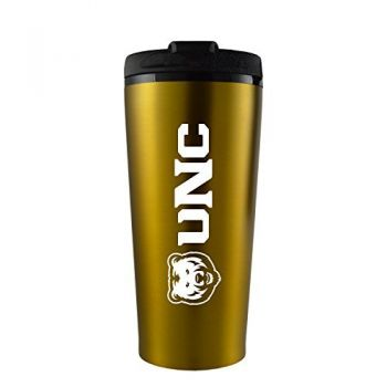 University of Northern Colorado -16 oz. Travel Mug Tumbler-Gold