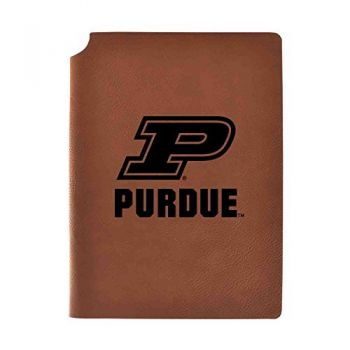 Purdue University Velour Journal with Pen Holder|Carbon Etched|Officially Licensed Collegiate Journal|