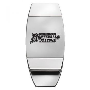 University of Montevallo - Two-Toned Money Clip - Silver