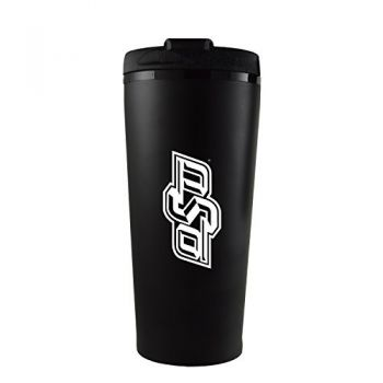 Oklahoma State University -16 oz. Travel Mug Tumbler-Black