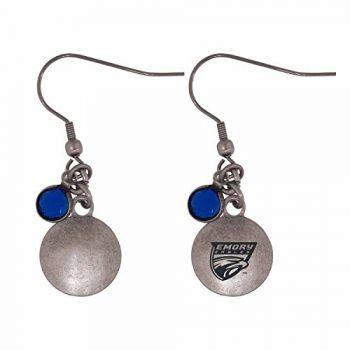 Emory University-Frankie Tyler Charmed Earrings