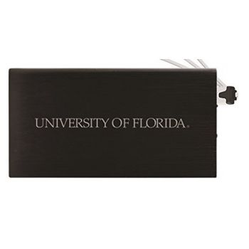 8000 mAh Portable Cell Phone Charger-University of Florida -Black