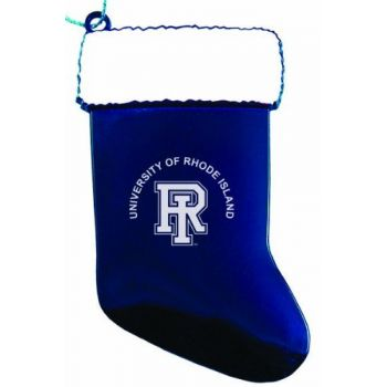 University of Rhode Island - Christmas Holiday Stocking Ornament - Blue