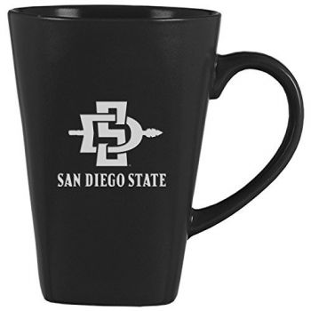 San Diego State University -14 oz. Ceramic Coffee Mug-Black