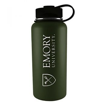 Emory University-32 oz. Travel Tumbler-Gun Metal