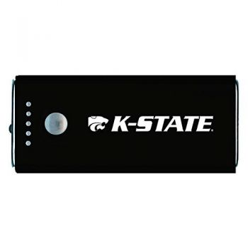 Kansas State University -Portable Cell Phone 5200 mAh Power Bank Charger -Black