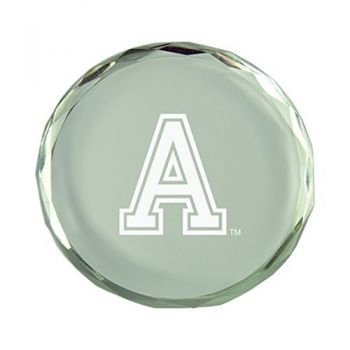 United States Military Academy-Crystal Paper Weight