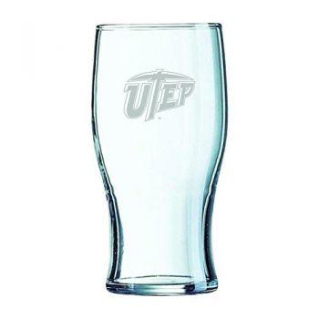 The University of Texas at El Paso-Irish Pub Glass