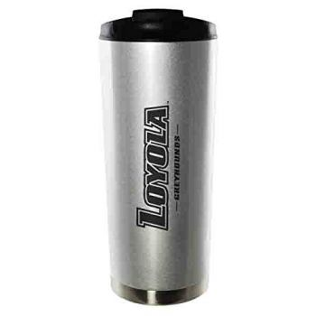 Loyola University Maryland-16oz. Stainless Steel Vacuum Insulated Travel Mug Tumbler-Silver