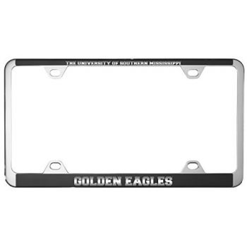 University of Southern Mississippi-Metal License Plate Frame-Black