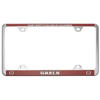Saint Mary's College of California -Metal License Plate Frame-Red
