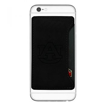 Auburn University-Cell Phone Card Holder-Black