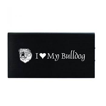 Quick Charge Portable Power Bank 8000 mAh  - I Love My Bull Dog