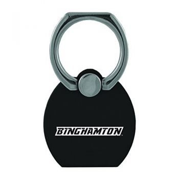 Binghamton University|Multi-Functional Phone Stand Tech Ring|Black