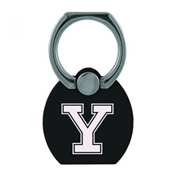 Yale University|Multi-Functional Phone Stand Tech Ring|Black