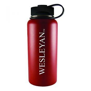 Wesleyan University -32 oz. Travel Tumbler-Red