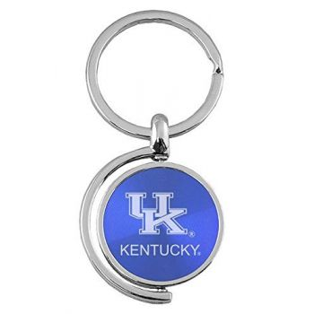 University of Kentucky - Spinner Key Tag - Blue