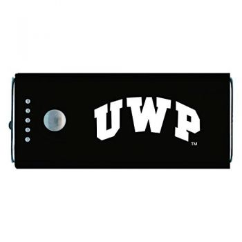 University of Wisconsin-Platteville-Portable Cell Phone 5200 mAh Power Bank Charger -Black