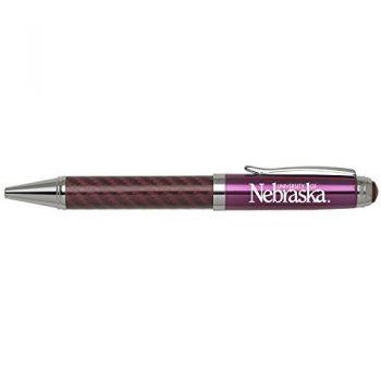 University of Nebraska-Carbon Fiber Mechanical Pencil-Pink