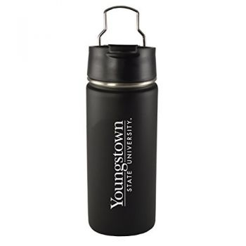 Youngstown State University-20 oz. Travel Tumbler-Black