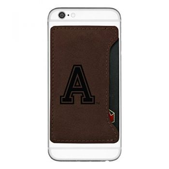 United States Military Academy-Cell Phone Card Holder-Brown